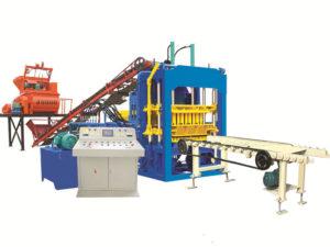 QT4-15D machines for hollow blocks