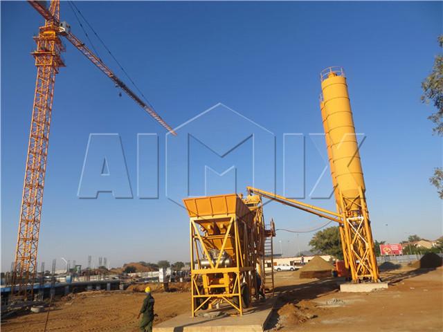 Mobile Concrete Batching Plant buy