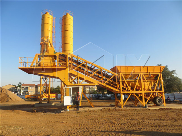 Mobile batching plant form China