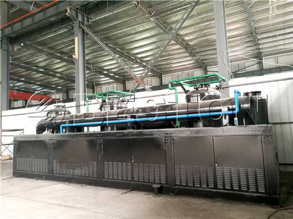 Automatic Pyrolysis Plant