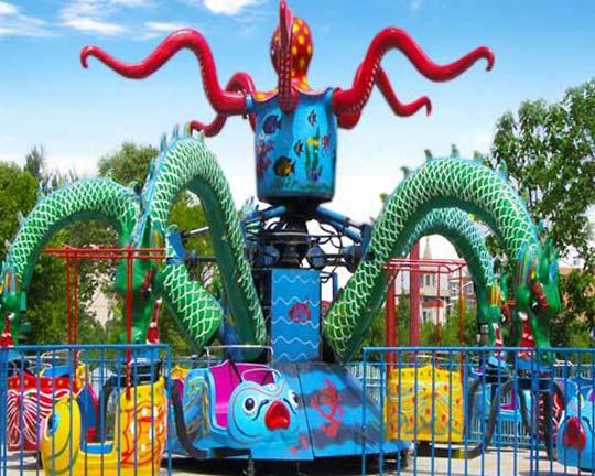 New octopus amusement ride
