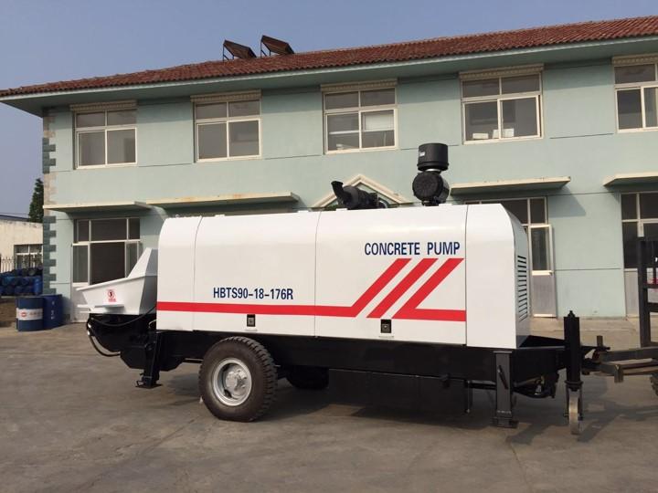 trailer concrete pump for sale