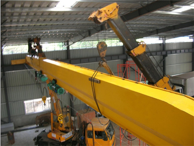 Shopping for 20t overhead cranes in China