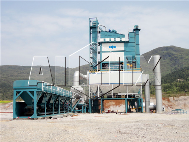 Stationary Asphalt Mixing Plant Cost