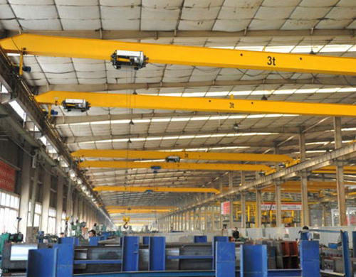 Single Girder Overhead Crane 3 Ton